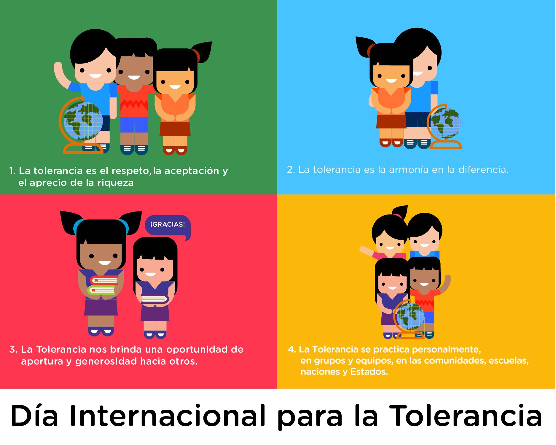 Tolerancia y Legalidad en los Niñ@s