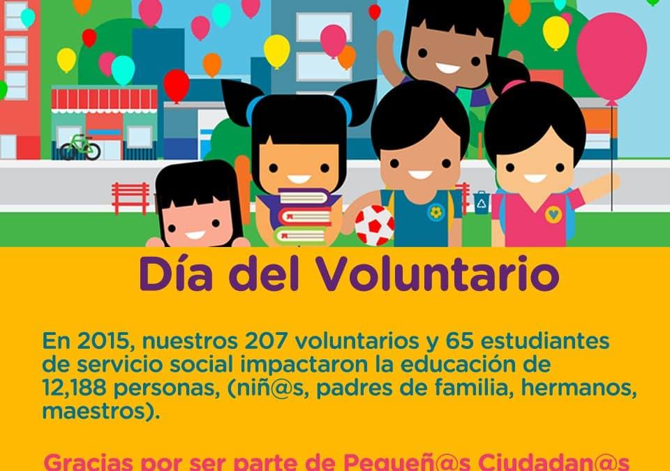 El Voluntariado como cimiento de una Cultura de Legalidad