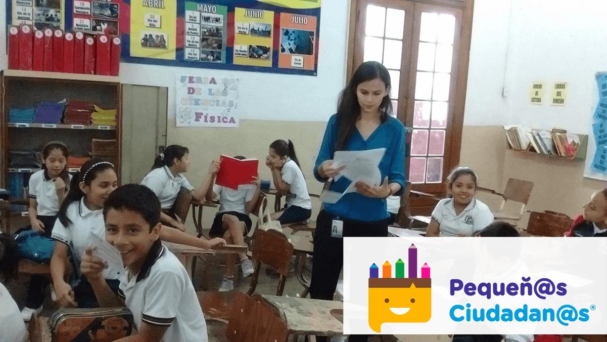 Pequeñ@s Ciudadan@s en la escuela Joaquín Fernández de Lizardi