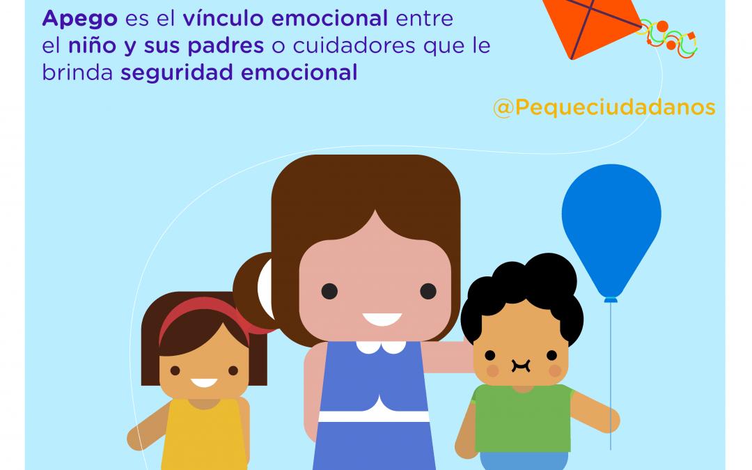 El apego y la salud emocional en los niños