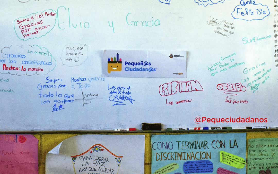 Pequeñ@s Ciudadan@s presente en el Carmen, N.L