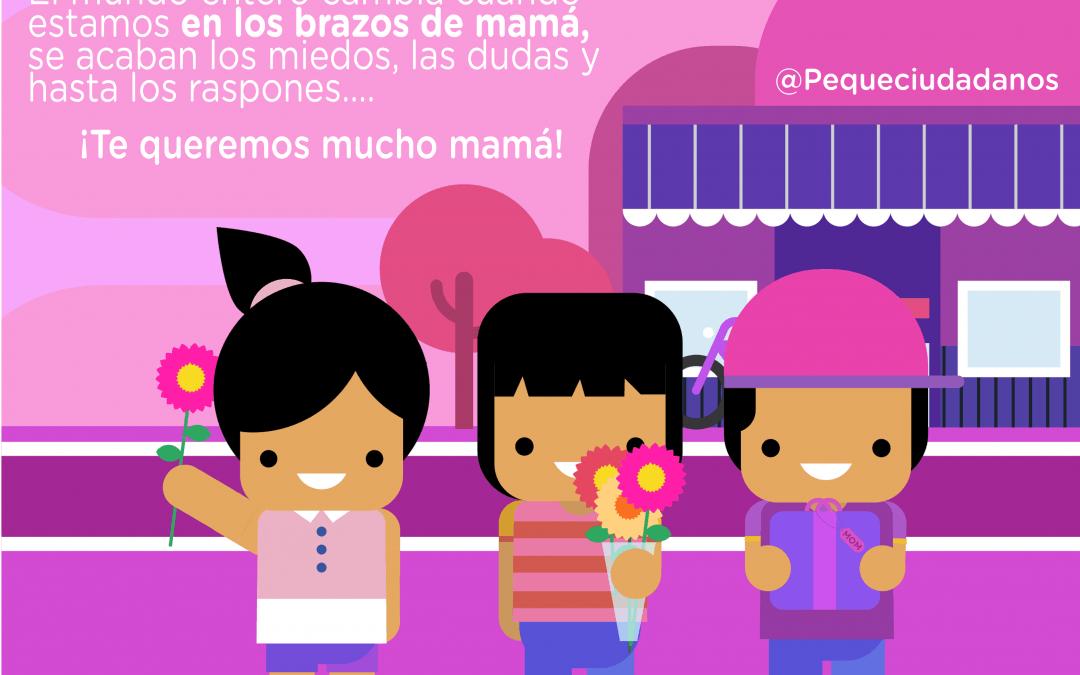 El derecho de los niños a disfrutar a sus mamás