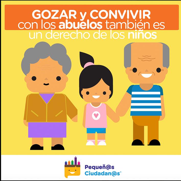 El derecho de niñas y niños al amor de sus abuelos