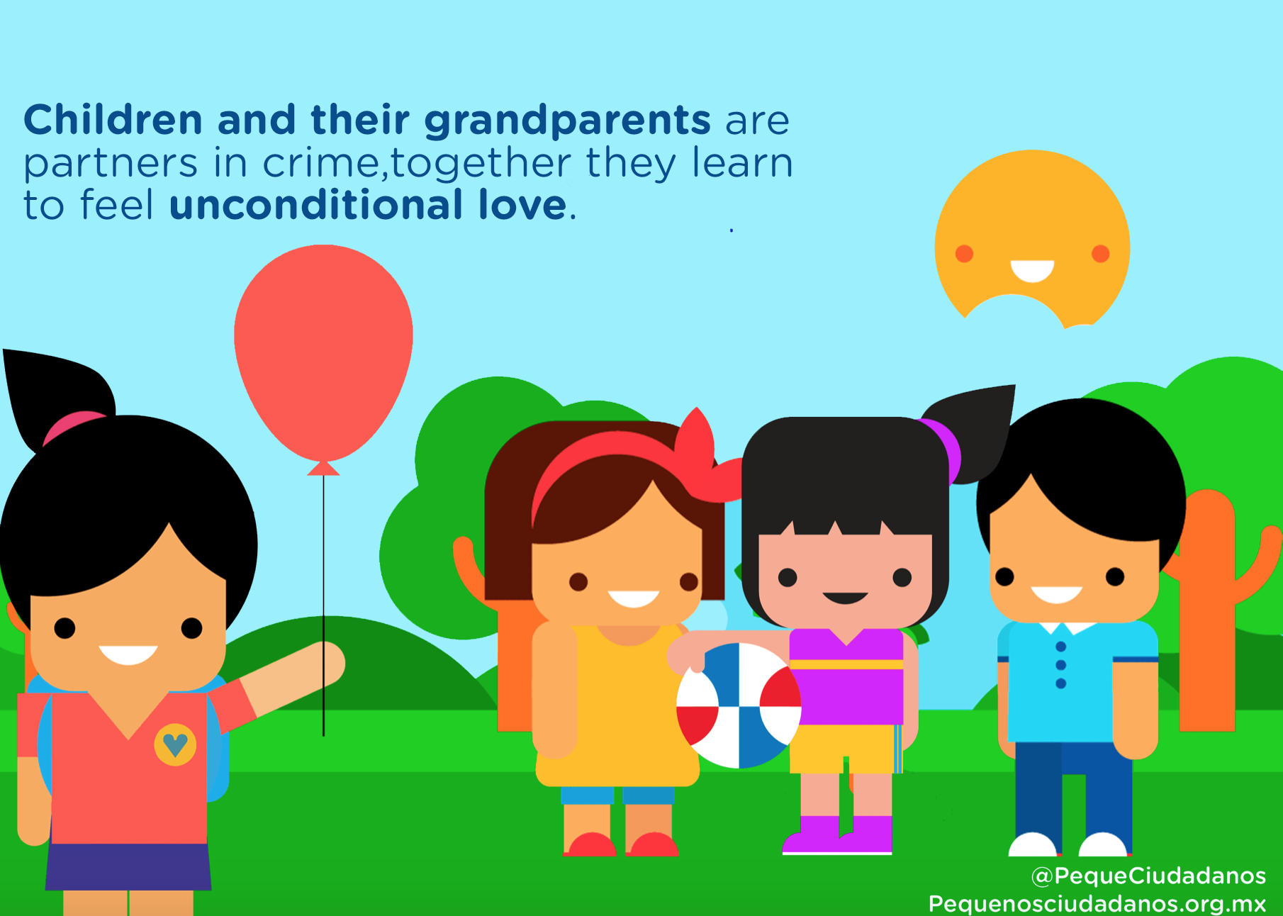 Children's right to receive their grandparent's love